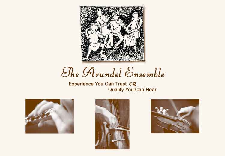 The Arundel Ensemble :: Experience You Can Trust || Quality You Can Hear