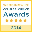 WeddingWire Couples' Choice Awards 2014